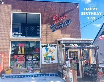 サンブリ25周年 誕生日 アメリカ雑貨屋 アメリカン雑貨 サンブリッヂ 岩手雑貨屋 通販 矢巾町