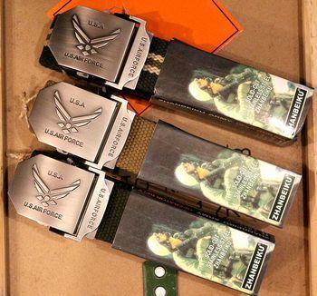 エアフォースGIベルト ミリタリーベルト アメリカ雑貨屋 アメリカン雑貨 サンブリッヂ 岩手雑貨屋 通販 矢巾町