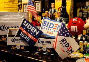 バイデン大統領 雑貨  帽子 フラッグ ジョーバイデン アメリカ雑貨屋 アメリカン雑貨 サンブリッヂ 岩手雑貨屋 通販 矢巾町