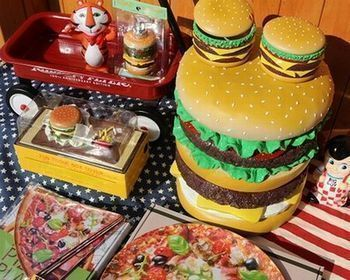 ハンバーガー イス 雑貨 アメリカ雑貨屋 アメリカン雑貨 サンブリッヂ 岩手雑貨屋 通販 矢巾町