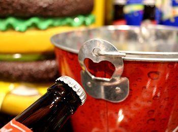 バドワイザー バケツ ブリキバケツ BBQ キャンプ アメリカ雑貨屋 アメリカン雑貨 通販 サンブリッヂ 岩手雑貨屋  矢巾町