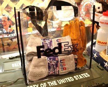 フェデックス バッグ クリアバッグ Fedex アメリカ雑貨屋 アメリカン雑貨 通販 サンブリッヂ 岩手 雑貨屋 矢巾町