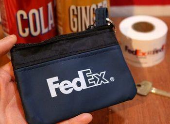 フェデックス コインケース 小銭入れ  Fedex アメリカ雑貨屋 アメリカン雑貨 通販 サンブリッヂ 岩手 雑貨屋 矢巾町
