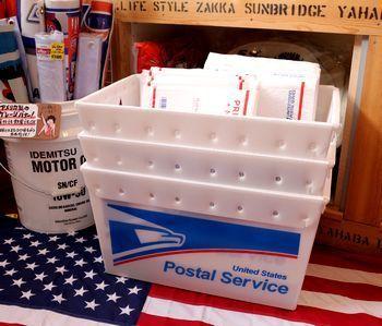 USPS ポストボックス アメリカ 郵便局 ストレージボックス アメリカ雑貨屋 アメリカ雑貨 通販 サンブリッヂ 岩手 雑貨屋 矢巾町