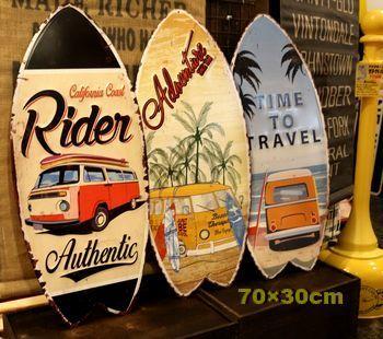 サーフボード看板 カリフォルニア看板 アメリカ雑貨屋 アメリカン雑貨 サンブリッヂ 岩手雑貨屋 通販 矢巾町
