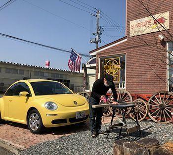 ステンシル看板 オーダー 看板 アメリカ雑貨屋 アメリカ雑貨 通販 サンブリッヂ 岩手 雑貨屋 矢巾町