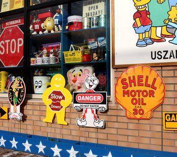 シェル石油 看板 ガレージ看板 アメリカ雑貨屋 アメリカ雑貨 通販 サンブリッヂ 岩手 雑貨屋 矢巾町