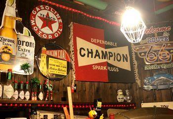 チャンピオンプラグ マット フリンジマット  アメリカ雑貨屋 アメリカ雑貨 通販 サンブリッヂ 岩手 雑貨屋 矢巾町