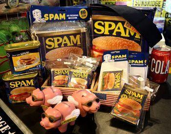 スパムエアフレッシュナー スパム スパムトランプ アメリカ雑貨屋 アメリカ雑貨 通販 サンブリッヂ 岩手 雑貨屋 矢巾町