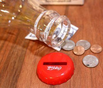 コーラボトルバンク コーラ 貯金箱 アメリカ雑貨屋 アメリカ雑貨 通販 サンブリッヂ 岩手 雑貨屋 矢巾町