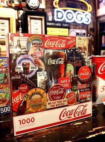 ジクゾーパズル コーラパズル アメリカパズル アメリカ雑貨屋 アメリカ雑貨 通販 サンブリッヂ 岩手 雑貨屋 矢巾町