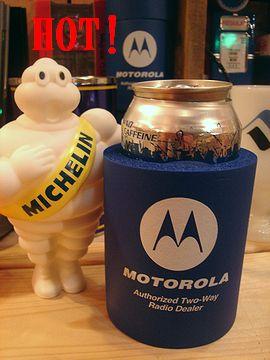 アメリカ雑貨屋 タイヤマン MOTOROLA缶クーラー