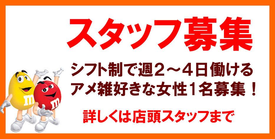 アメリカ雑貨屋サンブリッヂ スタッフ募集 岩手 盛岡 矢巾